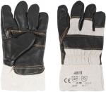 Перчатки рабочие кожаные, с мехом внутри (размер 10,5), FIT, 12445