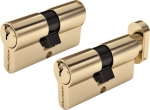Цилиндровый механизм, 70 мм, ключ-ключ, старая бронза (AL 70 AB), FIT, 67226