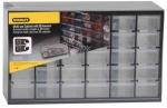 Органайзер вертикальный c 30 малыми выдвижными отделениями, пластмассовый, STANLEY, 1-93-980
