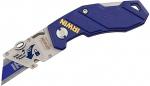 Складной нож с биметаллическим универсальным лезвием, IRWIN, 10507695